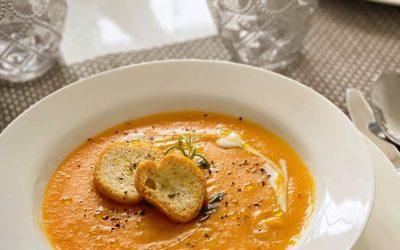 Jerusalem artichokes soup