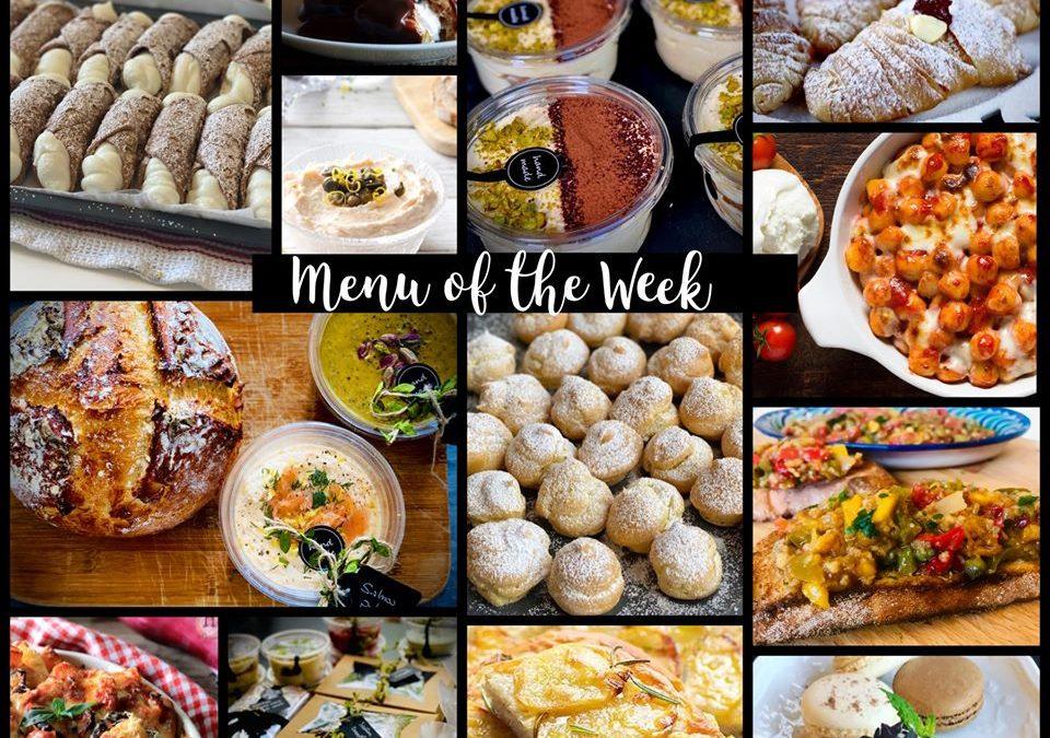 Menu of the Week – 17 May 2020