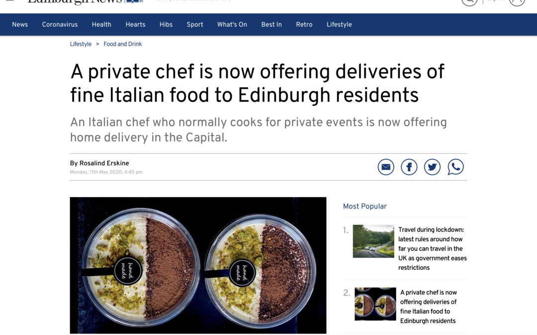 In the Edinburgh News!