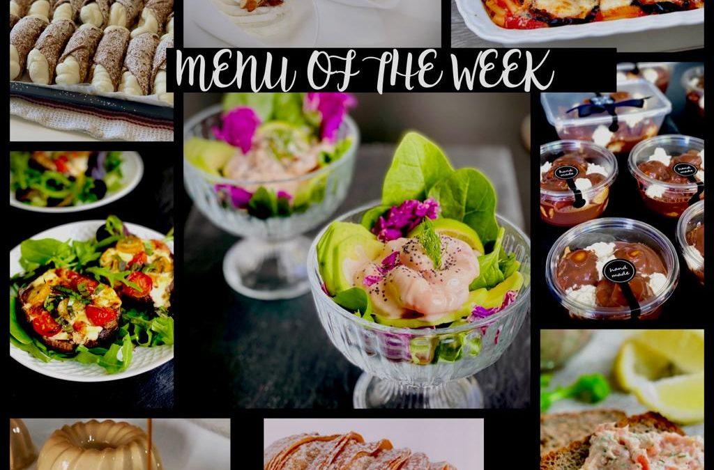 Menu of the Week – May 31st