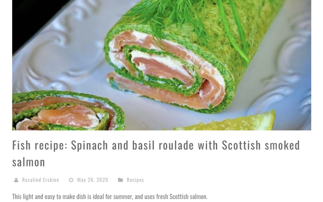 Recipe in Scotsman Food and Drink