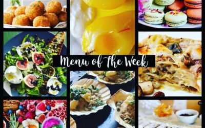Menu of the Week – October 4th