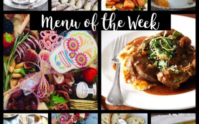 Menu of the week – October 18th