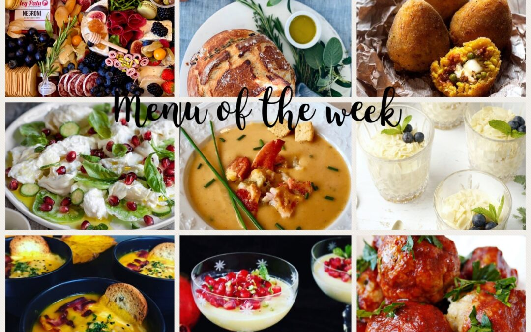 Menu of the week – November 1st