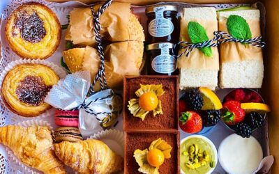 15 places in Scotland for afternoon tea takeaway and home delivery