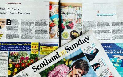 We made The Scotsman – Scotland on Sunday